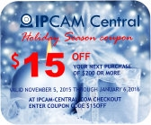 $15OFF - $15.00 Rebate Code for IP Camera purchases over $200