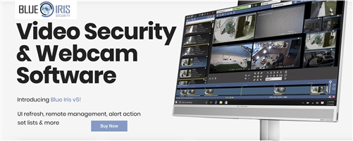 BlueIris Version 5 - Video Security and Monitoring Network Video ONVIF  Recording (NVR) Software - Full Version
