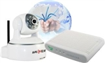 H264 IP Camera Home Automation Startup kit bundle