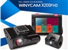 IPCC-Winycam X200FHD Front and Rear Full HD Vehicle Drive Recorder