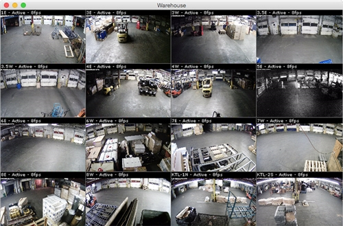 IP Camera Recorder software for MAC OS